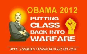 Class Warfare Obama graphic by Conservatoons