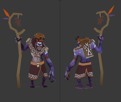 Witch Doctor Set WIP by nullf