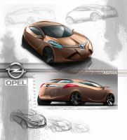 Opel Astra by cristianci
