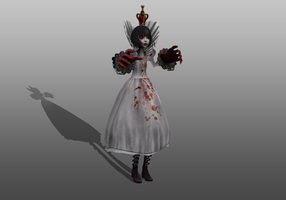 QueenHysteria wip1 by tombraider4ever