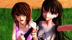 [MMD x Life] Me and Nat! by LoverCathy