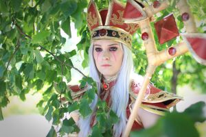 Sally whitemane cosplay - World of Warcraft by Drawbella