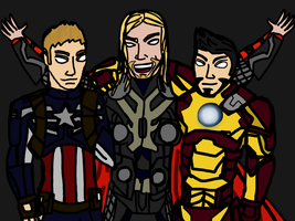 Bro's Assemble by 127thlegion