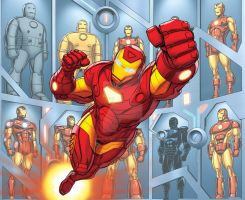 Iron-Man by bennyfuentes