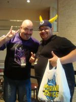 Kyle Hebert and The Ox King by NyNeko