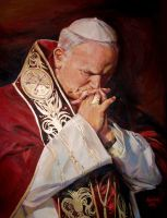 John Paul II by painter84