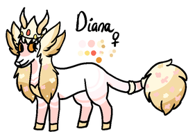 Diana reference by kittystuff