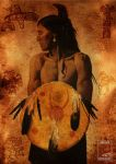 """Native American """"Indian"""" by dienstmannoliver"""