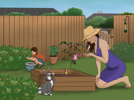Family Garden by Kindii