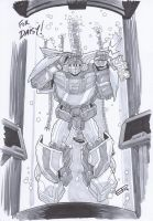 AA14 Sketch - Wheeljack by Kingoji