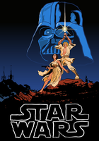 Movie Poster Illustrations: Star Wars by Vigorousjammer