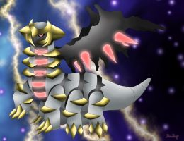 Altered Giratina by Rose-Beuty