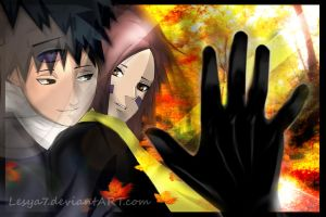 Obito and Rin: Old times never come back... by Lesya7