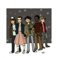 Stranger Things by Mechouille