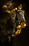 Gold Man by yodesign