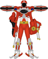 Power Rangers Lightspeed Rescue, Trans-Armor Cycle by Taiko554