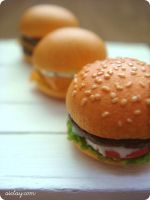 Burger line-up by Aiclay