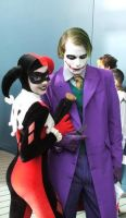 Harley Quinn and Mistah J by Ginger-Hero