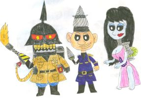 Upgraded Puppets Left Out of PMvsDT by SithVampireMaster27