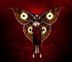 mothmaiden by unded