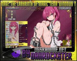 Morgiana Theme Windows 7 by Danrockster