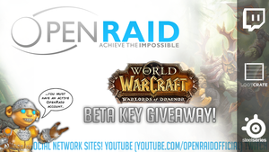 WoD Beta Key Giveaway Pre-Stream Overlay by WhammoFTW