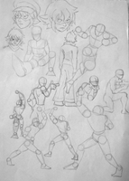 practice for poses 2 by SAibIRfan