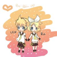 Len and Rin by BiancaEmoRapinRocker
