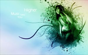 Music Takes You Higher by ShortCircuit123
