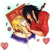 Akira, didn't you bring me chocolates? by DoICrossYourMind