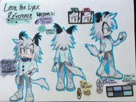 Leon the Lynx Reference by alishadowriter