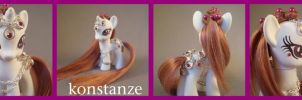 Konstanze - a G4 custom pony by hannaliten