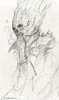 Ghost Rider Spirit of Vengeance Concept sketch by JSMarantz