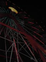 Ferris Wheel at Night by Singing-Wolf-12