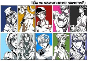 80% Meme:: Can You Guess My Favorite Characters by renkaz