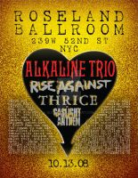 Alkaline Trio and Rise Against by slipsk8r