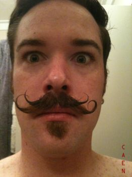 Double Stache by Caen-N