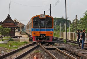 Train Ride From Ayutthaya by David-Will