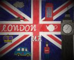 London - UK Flag by Lost-n-Found-City