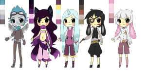 Palette Adopts for rites-of-passage by BananaBread9112
