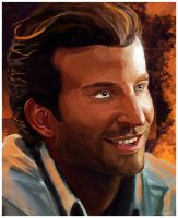 Bradley Cooper -  Speed Painting by Essence-Of-Rapture