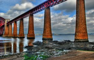 Forth Rail Bridge by adischordantrhyme