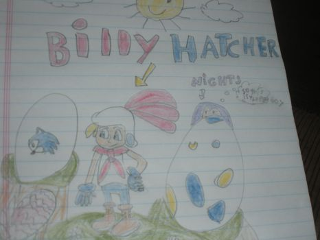 Billy hatcher and NiGHTS by NiGHTSthenightmaren2