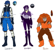 Custom Gemsonas for prinxesalt by azume-adopts