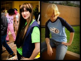 Motorcity - Julie and Chuck cosplay by bishounenizer