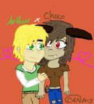 Artie and Choco by CydneyJones