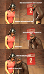 The Punny Soldierboy #2 by googlygazer