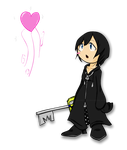 Xion Chibi by SonicHearts