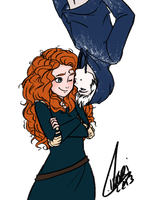 Jack x Merida by Livori