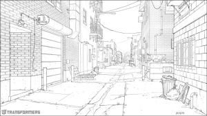 EXT JasperCityAlleyway Line by orangehexagon